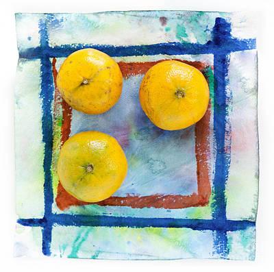 Tangerines  Art Print by Igor Kislev