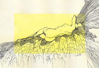 Tangled Art Print by Nadine Dennis