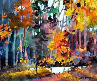 Tangled Woods Art Print