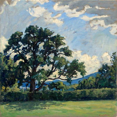 Abstract Realism Painting - Tanglewood Afternoon by Thor Wickstrom