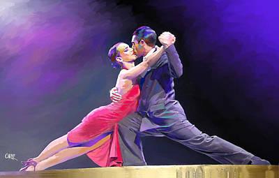 Tango Art Print by Carvil