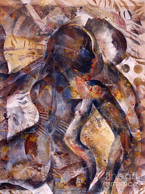 Tango Art Print by Charles B Mitchell