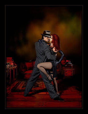 Bandoneon Wall Art - Photograph - Tango Intimo by Raul Villalba