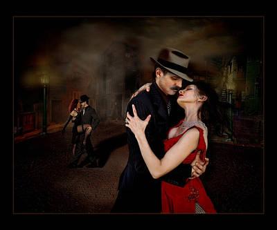 Bandoneon Wall Art - Photograph - Tango Love by Raul Villalba