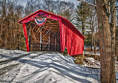 Photograph - Tannery Bridge by Fred LeBlanc