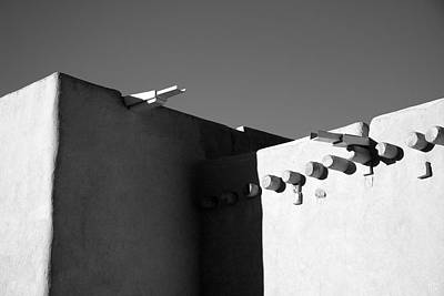 Photograph - Taos Church I by Jim  Arnold
