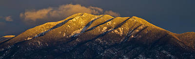 Photograph - Taos Mountain by Atom Crawford