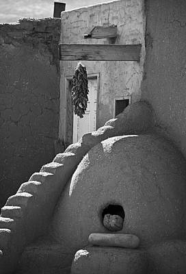 Photograph - Taos Pueblo Oven by Melany Sarafis