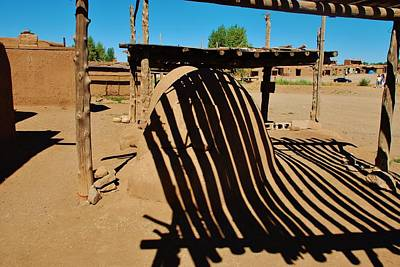 Photograph - Taos Pueblo Reflections by Dany Lison