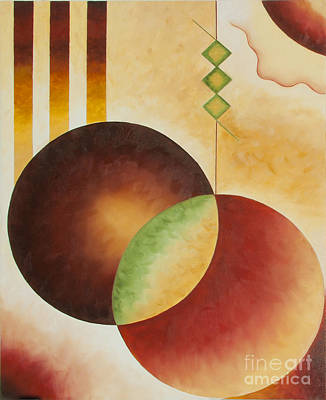 Taos Series- Architectural Journey #3 Art Print by Teri Brown