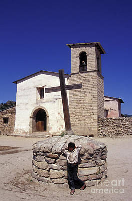 Photograph - Tarahumara Boy Copper Canyon Mexico by John  Mitchell