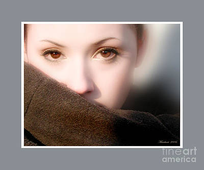 Photograph - Tara's Eyes by Marilyn Marchant