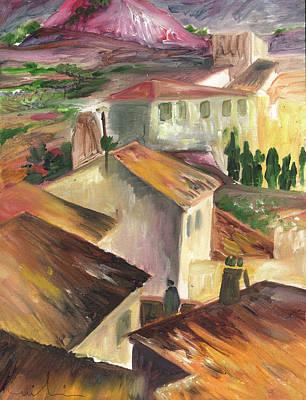 Spanish House Painting - Tarbena 12 by Miki De Goodaboom