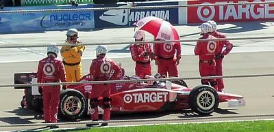 Indy Car Photograph - Target Car by Trenton Heckman