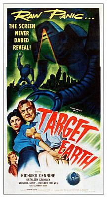 Target Earth,  From Left Kathleen Art Print by Everett