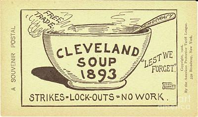 Tariff League Postcard, 1906 Print by Granger