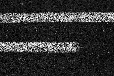 Photograph - Tarmac Lines by Atom Crawford