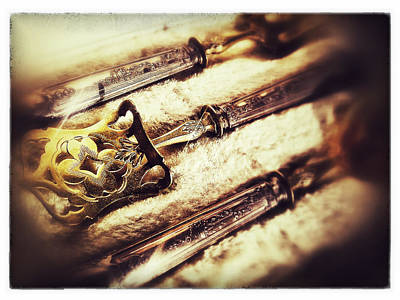 Tarnished Art Print by Olivier Calas