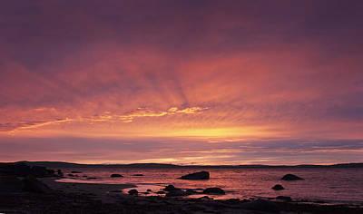 Photograph - Taroona Sunrise by Odille Esmonde-Morgan