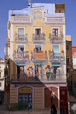 Photograph - Tarragona Mural by Rod Jones