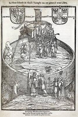 Tartaglia's Artillery Book, 1550 Edition Art Print
