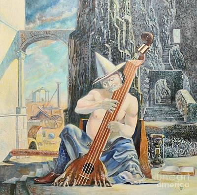 Painting - Tartini Cacophonist by Darko Dedic-Dechanski