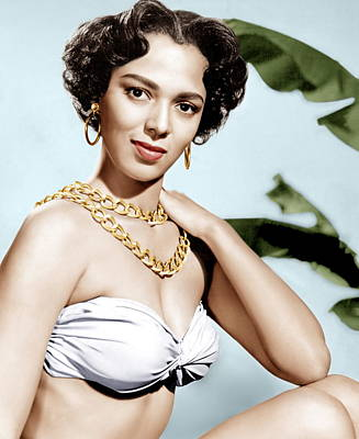 Tarzans Peril, Dorothy Dandridge, 1951 Art Print