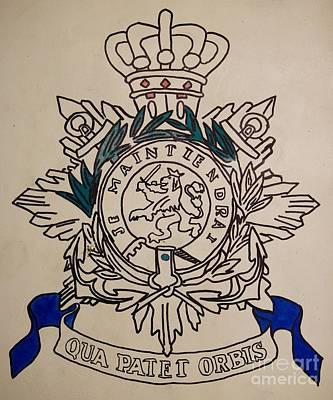 Task Force Uruzgan - Crest Art Print by Unknown