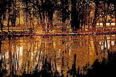 Reflective Mixed Media - Taste Of Autumn by Bonnie Bruno
