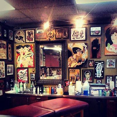 Decorative Photograph - #tattoo #tattoshop #tattoparlor #ink by Chelsea Qualls