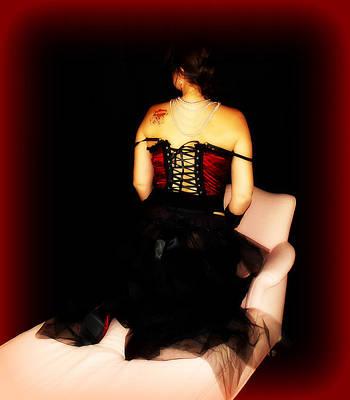 Bordello Photograph - Tattooed Madam by Cindy Nunn