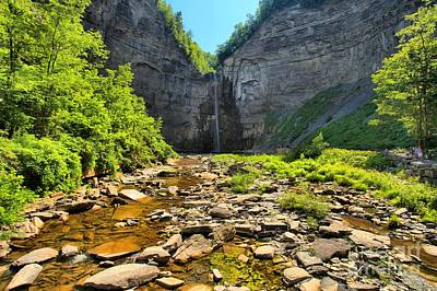 Photograph - Taughannock Falls Canyon by Adam Jewell