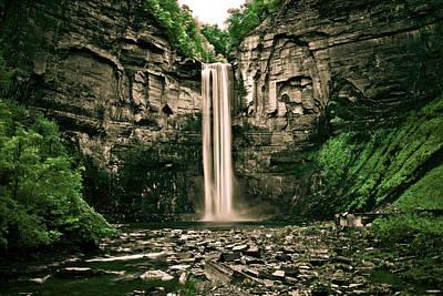Fingerlakes Photograph - Taughannock Falls by Tom Molczynski