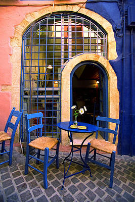 Photograph - Taverna-kriti by John Galbo