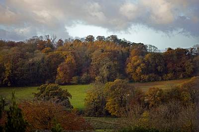 Taw Valley In Autumn Art Print by Dr Keith Wheeler