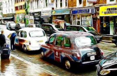 Taxi Please Art Print by Steve K
