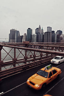 Fast Taxi Photograph - Taxi Taxi by Benjamin Matthijs