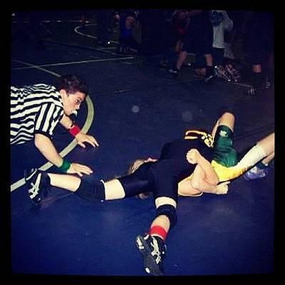 Wrestling Photograph - #tbt #myson #sage #wrestling #louisiana by Lori Lynn Gager