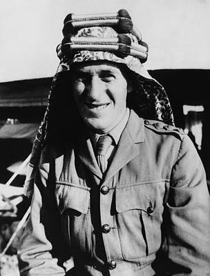 Arabian Attire Photograph - T.e. Lawrence 1888-1935, Popularly by Everett