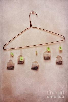 Fineart Photograph - Tea Bags by Priska Wettstein