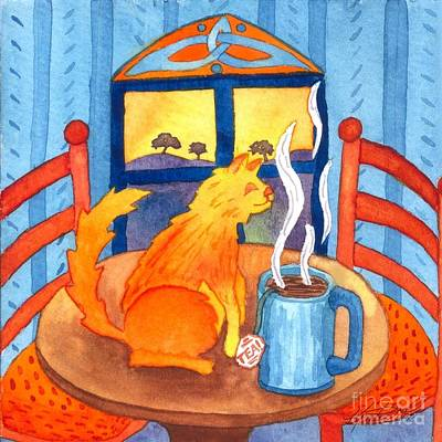 Painting - Tea For Me by Kristen Fox