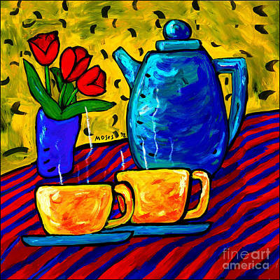 Painting - Tea For Two by Dale Moses
