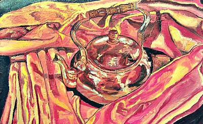Painting - Tea Kettle by Andrew Hench