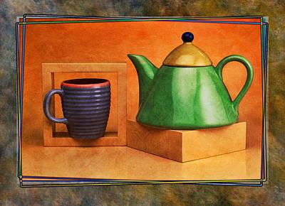 Tea  Art Print by Mauro Celotti