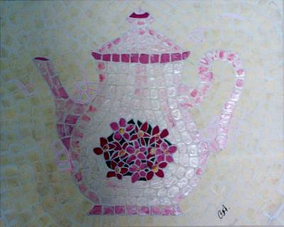 Painting - Tea Pot by Cynthia Amaral