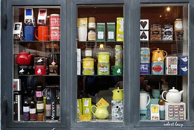 Scandanavia Photograph - Tea Shop by Robert Lacy