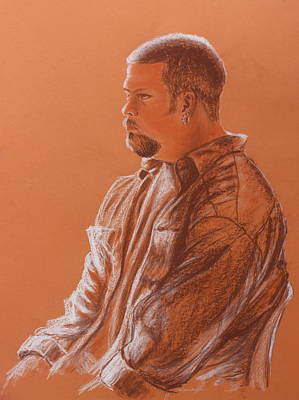 Drawing - Teacher's Son by Kume Bryant