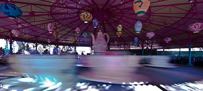 Mad Hatter Photograph - Teacup Madness by Jason Blalock