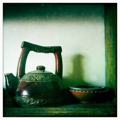 Photograph - Teapot And Bowls by Betse Ellis