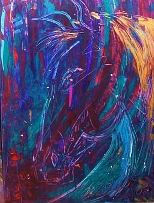 Painting - Tear For Deeddra by Cody Williamson